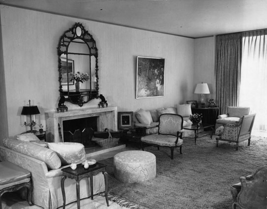Interior of the Bronfman Apartment
