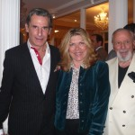Roy Kean, Lavinia Brance Snyder and host Ranan Lurie