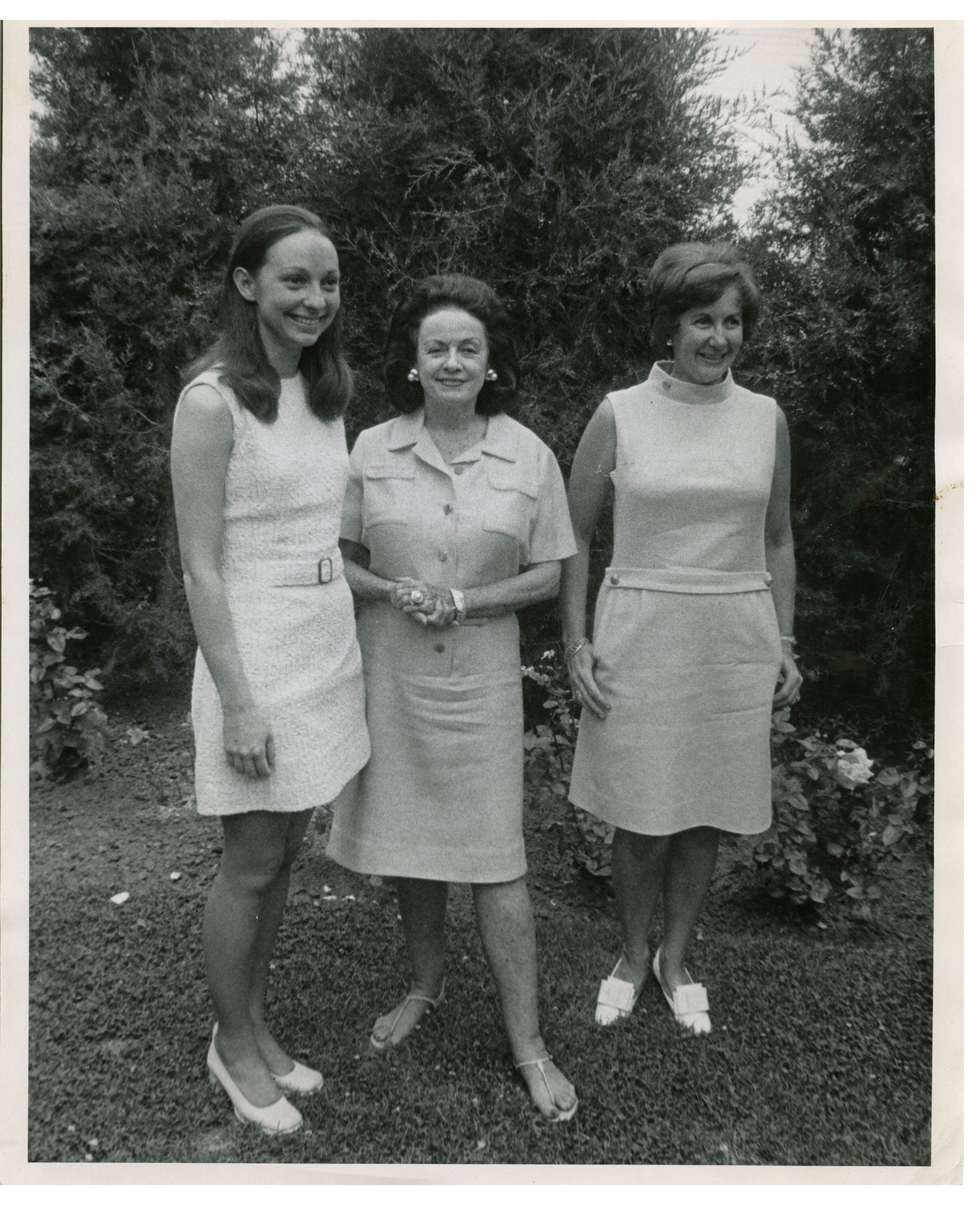 Diane Stockmar Hunt with Dolly and Burtie Green