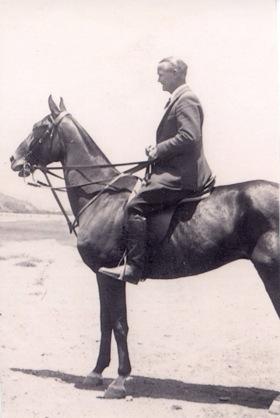 Neil McCarthy on horse