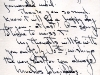 Letter from Dolly Green to Heini Schondube