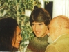 Steve Powers, Bernie Cornfeld and an unidentified friend