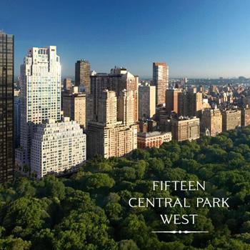 15 Central Park West Official Site